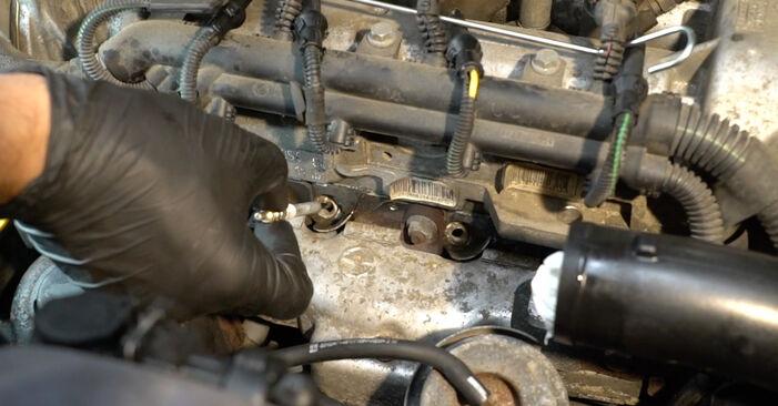 Corsa D Hatchback (S07) 1.3 CDTI (L08, L68) 2008 Gløderør gør-det-selv udskiftnings værksted manual