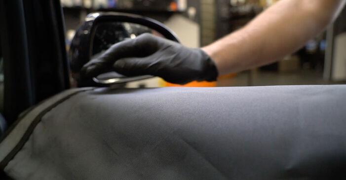 Wie Spiegelglas Opel Corsa D 1.3 CDTI (L08, L68) 2006 tauschen - Kostenlose PDF- und Videoanleitungen