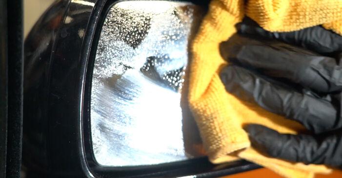 Austauschen Anleitung Spiegelglas am Opel Corsa D 2007 1.3 CDTI (L08, L68) selbst
