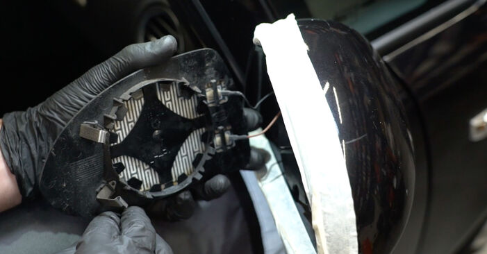 How to remove OPEL CORSA 1.3 CDTI (L08, L68) 2010 Glass For Wing Mirror - online easy-to-follow instructions