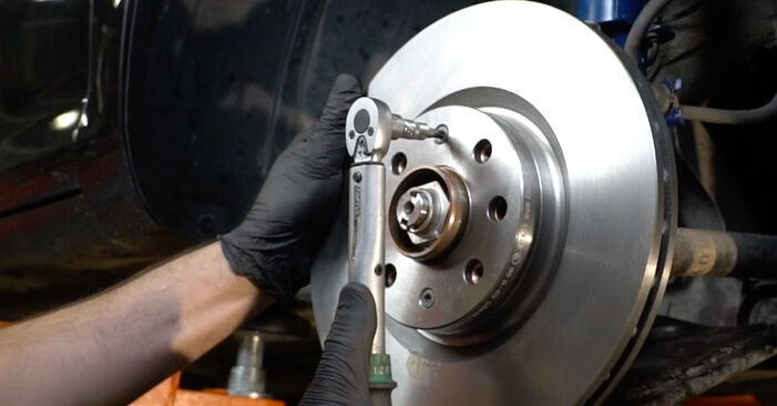 How to replace Brake Discs on OPEL Corsa D Hatchback (S07) 2011: download PDF manuals and video instructions