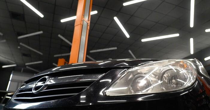 Austauschen Anleitung Bremsbeläge am Opel Corsa D 2007 1.3 CDTI (L08, L68) selbst