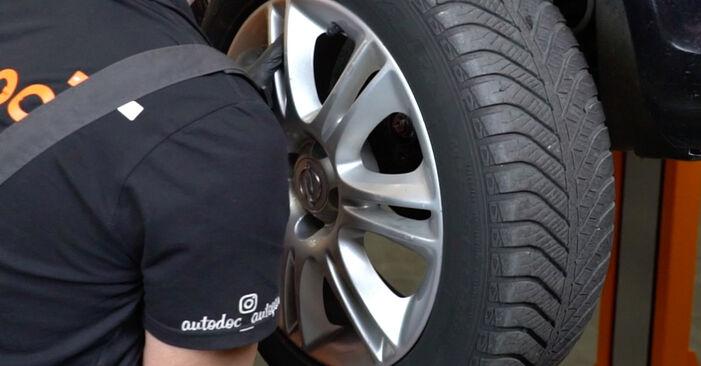 Byta OPEL Corsa D Hatchback (S07) 1.4 (L08, L68) 2011 Fjädrar – gör det själv med onlineguide