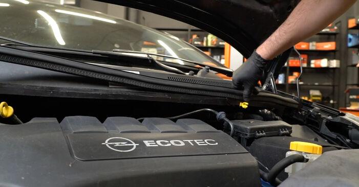 Så lång tid tar det att byta Fjädrar på Opel Corsa D 2014 – informativ PDF-manual