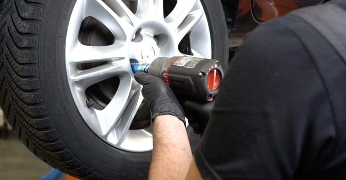 Modifica Ammortizzatori su OPEL Corsa D Hatchback (S07) 1.0 (L08, L68) 2009 da solo