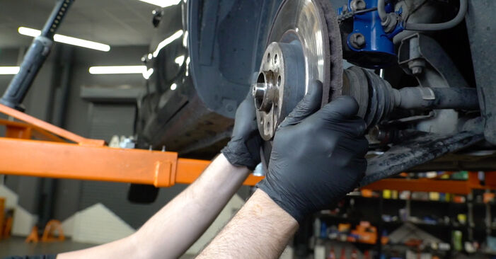 How to change Wheel Bearing on Opel Corsa D 2006 - free PDF and video manuals