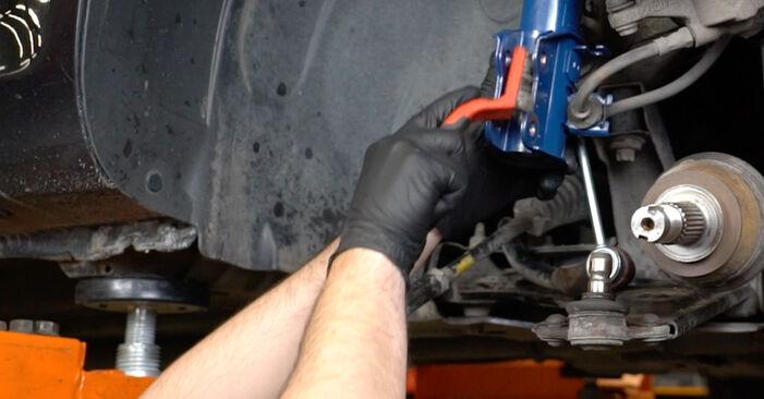 Opel Corsa D 1.2 (L08, L68) 2008 Wheel Bearing replacement: free workshop manuals