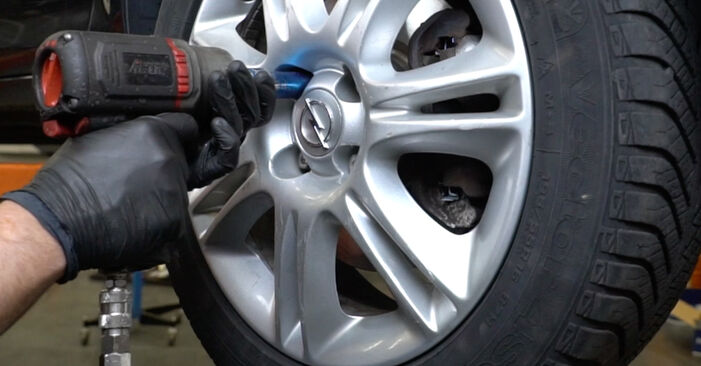 How to change Wheel Bearing on OPEL Corsa D Hatchback (S07) 2009 - tips and tricks