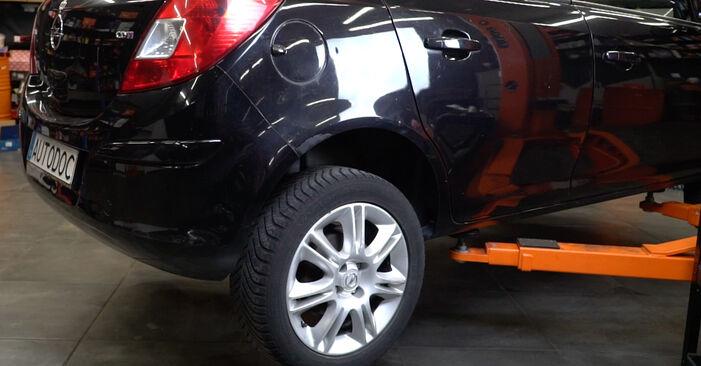 Смяна на Opel Corsa D 1.2 (L08, L68) 2008 Колесен лагер: безплатни наръчници за ремонт
