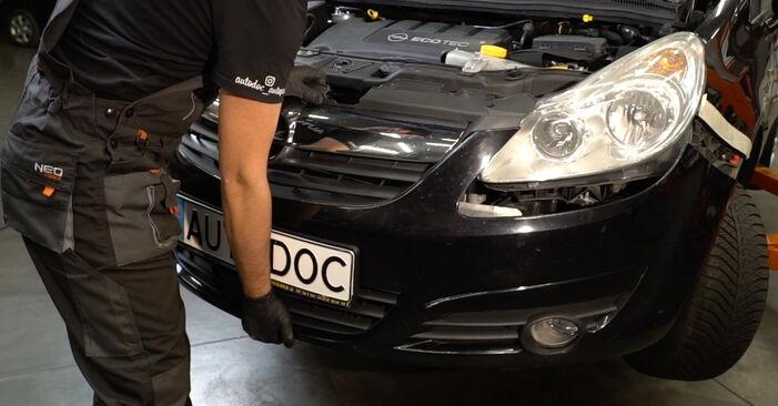 Corsa D Hatchback (S07) 1.3 CDTI (L08, L68) 2008 Forlygter gør-det-selv udskiftnings værksted manual
