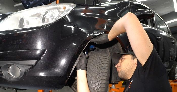 Hvordan man udskifter Forlygter på OPEL Corsa D Hatchback (S07) 2011: hent PDF manualer og video instruktioner