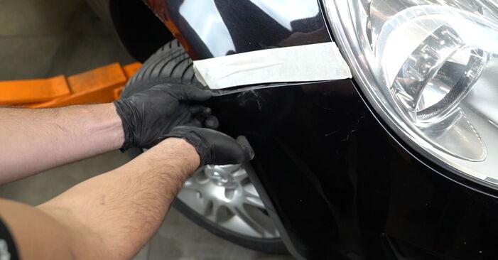Hvor lang tid tager en udskiftning: Forlygter på Opel Corsa D 2014 - informativ PDF-manual