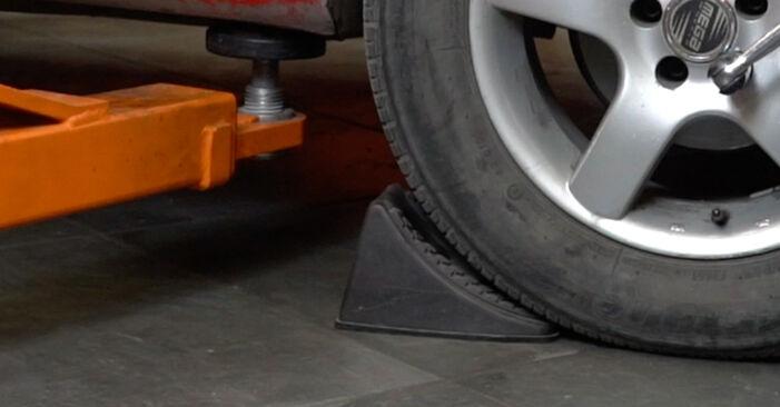 Wie Spurstangenkopf Seat Ibiza 6l1 1.9 TDI 2002 tauschen - Kostenlose PDF- und Videoanleitungen