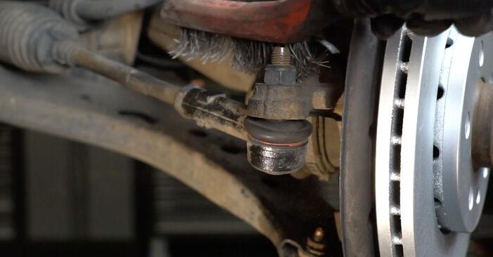 Spurstangenkopf am SEAT Ibiza III Schrägheck (6L) 1.9 TDI Cupra R 2007 wechseln – Laden Sie sich PDF-Handbücher und Videoanleitungen herunter