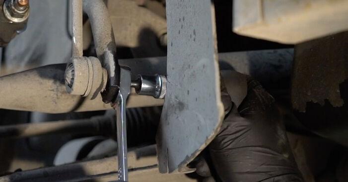 SEAT IBIZA 2009 Stabilisatorstang stap voor stap instructies voor vervanging