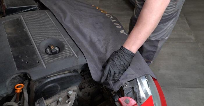 Wie Federn SEAT Ibiza III Schrägheck (6L) 1.4 16V 2003 austauschen - Schrittweise Handbücher und Videoanleitungen