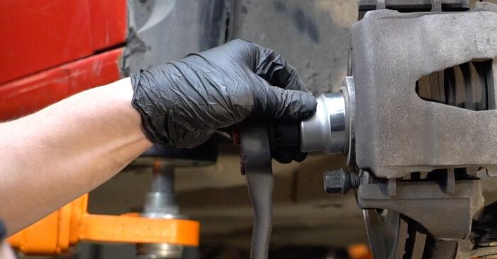 Wie schwer ist es, selbst zu reparieren: Federn Seat Ibiza 6l1 1.9 TDI 2008 Tausch - Downloaden Sie sich illustrierte Anleitungen