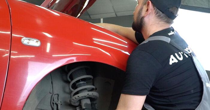 Tausch Tutorial Federn am SEAT Ibiza III Schrägheck (6L) 2006 wechselt - Tipps und Tricks