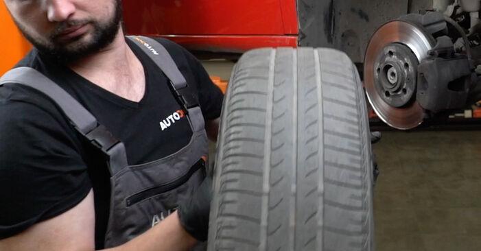 Domlager Ihres Seat Ibiza 6l1 1.2 2002 selbst Wechsel - Gratis Tutorial