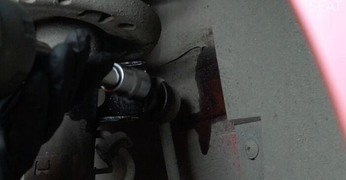 Tausch Tutorial Domlager am SEAT Ibiza III Schrägheck (6L) 2006 wechselt - Tipps und Tricks