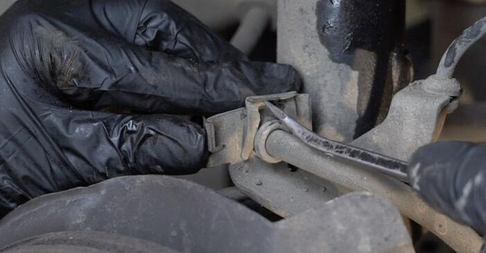 Wie Domlager SEAT Ibiza III Schrägheck (6L) 1.4 16V 2003 austauschen - Schrittweise Handbücher und Videoanleitungen
