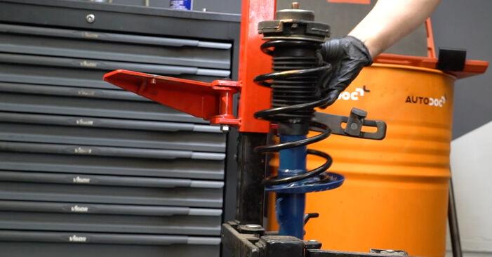 Ibiza III Schrägheck (6L) 1.4 TDI 2005 1.4 16V Domlager - Handbuch zum Wechsel und der Reparatur eigenständig