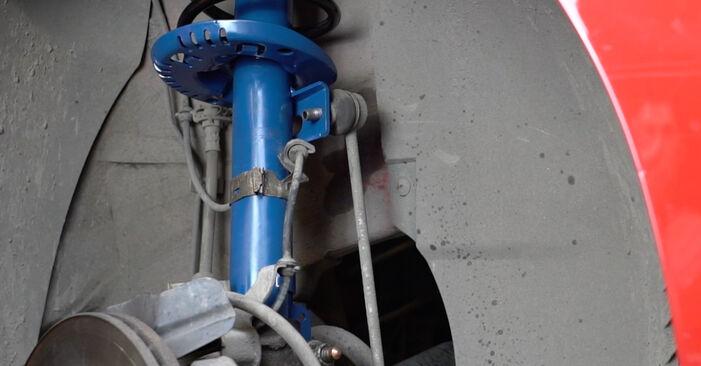 Schritt-für-Schritt-Anleitung zum selbstständigen Wechsel von Seat Ibiza 6l1 2007 1.4 TDI Domlager