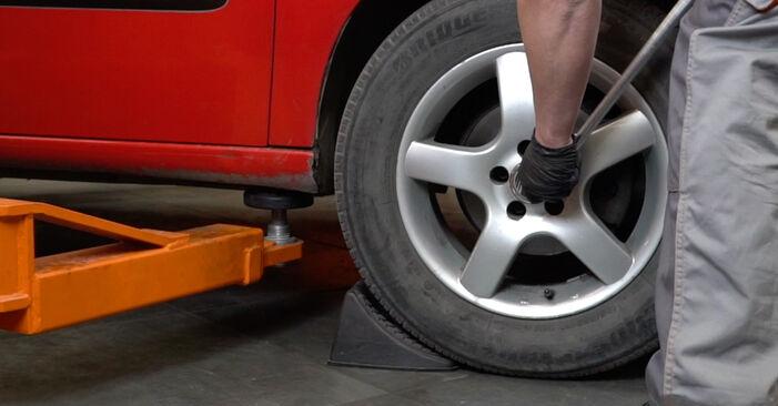 Domlager am SEAT Ibiza III Schrägheck (6L) 1.9 TDI Cupra R 2007 wechseln – Laden Sie sich PDF-Handbücher und Videoanleitungen herunter