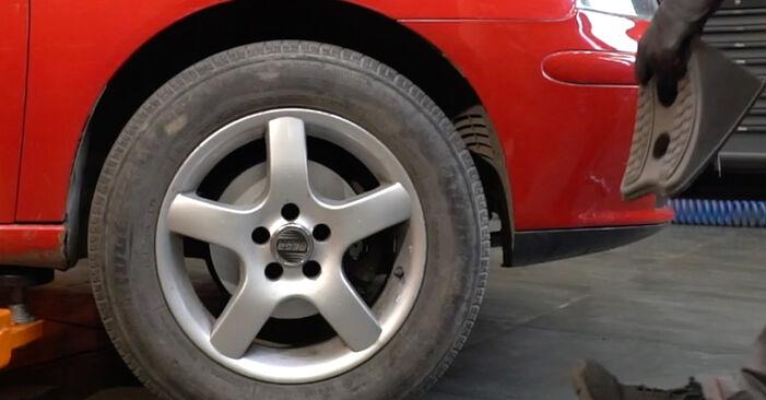 Austauschen Anleitung Traggelenk am Seat Ibiza 6l1 2004 1.9 TDI selbst