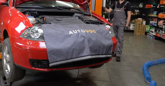 Traggelenk Seat Ibiza 6l1 1.2 2004 wechseln: Kostenlose Reparaturhandbücher