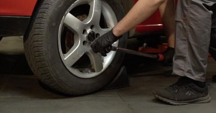Come sostituire Supporto Ammortizzatore su SEAT Ibiza III Hatchback (6L) 2007: scarica manuali PDF e istruzioni video