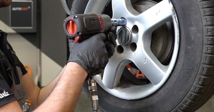 Modifica Supporto Ammortizzatore su SEAT Ibiza III Hatchback (6L) 1.9 SDI 2005 da solo
