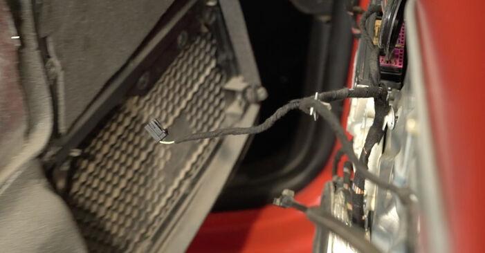 Zamenjajte Kljucavnice zunaj na Seat Ibiza 6l1 2004 1.9 TDI sami