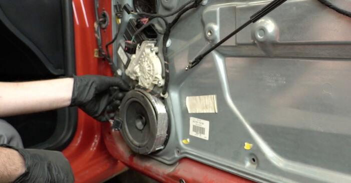 Ibiza III Hatchback (6L) 1.4 TDI 2005 Kljucavnice zunaj DIY menjava, priročnik delavnice