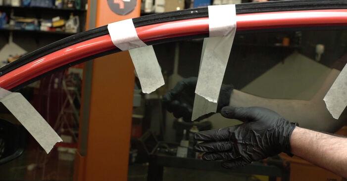 Kako zamenjati Kljucavnice zunaj na Seat Ibiza 6l1 2002 - brezplačni PDF in video priročniki