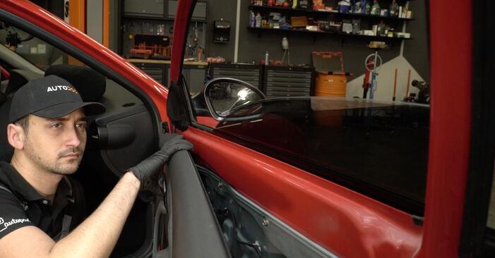 Kako dolgo traja menjava: Kljucavnice zunaj na Seat Ibiza 6l1 2002 - informativni PDF priročnik