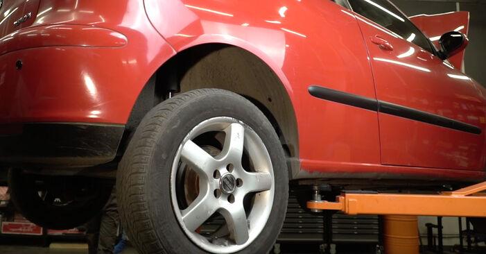 Zamenjajte Kolesni lezaj na Seat Ibiza 6l1 2004 1.9 TDI sami