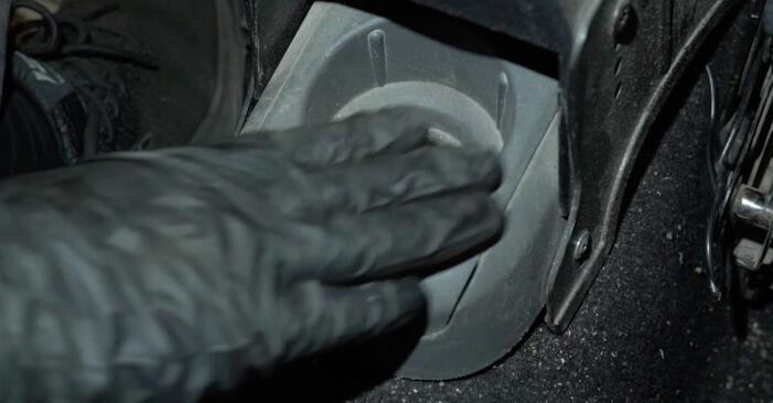 Priporočila korakov za DIY zamenjavo Seat Ibiza 6l1 2007 1.4 TDI Kolesni lezaj