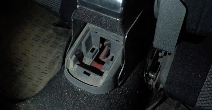 Kako dolgo traja menjava: Kolesni lezaj na Seat Ibiza 6l1 2002 - informativni PDF priročnik