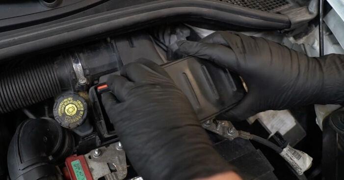 Zelf Luchtfilter RENAULT Clio III Hatchback (BR0/1, CR0/1) 2.0 16V Sport (CR0N, CR1P) 2008 vervangen
