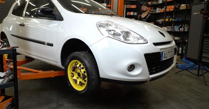 Changer Filtre à Carburant sur RENAULT Clio III 3/5 portes (BR0/1, CR0/1) 2.0 16V Sport (CR0N, CR1P) 2008 par vous-même