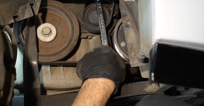 Renault Clio 3 1.2 16V 2007 Poly V-Belt replacement: free workshop manuals