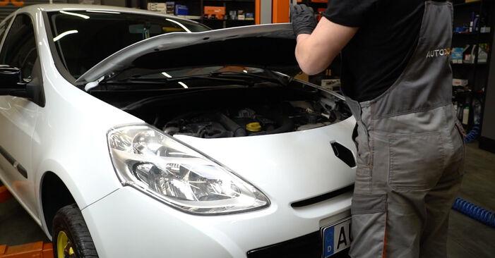 Wie Bremsscheiben Renault Clio 3 1.5 dCi 2005 tauschen - Kostenlose PDF- und Videoanleitungen