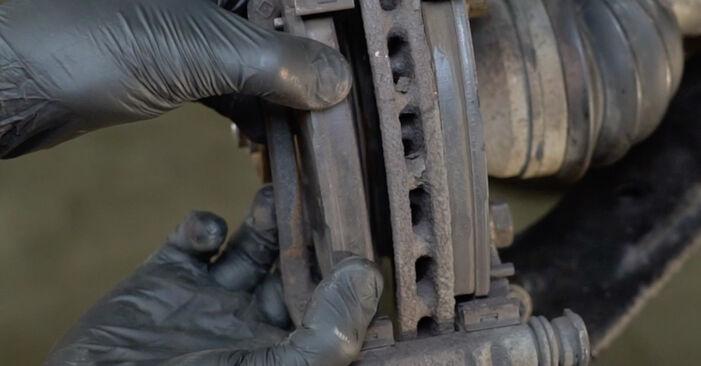 Clio III Schrägheck (BR0/1, CR0/1) 1.2 16V Hi-Flex 2016 1.2 16V Bremsscheiben - Handbuch zum Wechsel und der Reparatur eigenständig