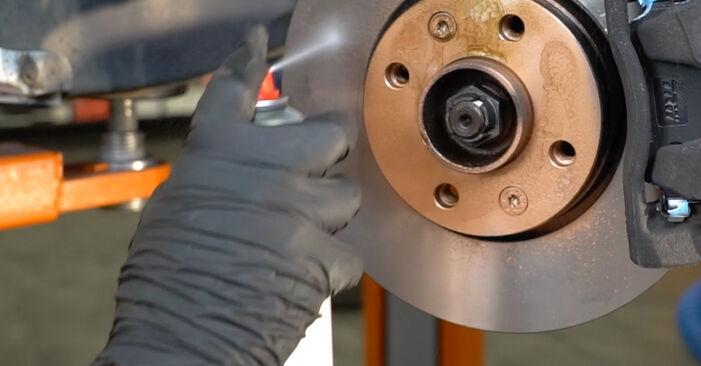 Wie RENAULT CLIO 1.2 16V Hi-Flex 2009 Bremsbeläge ausbauen - Einfach zu verstehende Anleitungen online