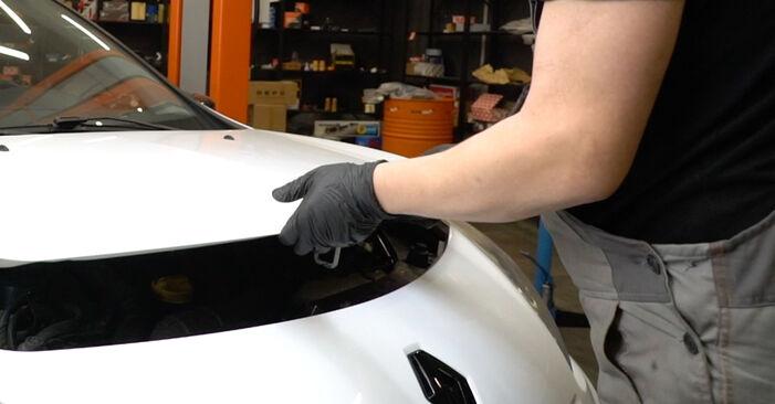 Austauschen Anleitung Bremsbeläge am Renault Clio 3 2015 1.5 dCi selbst