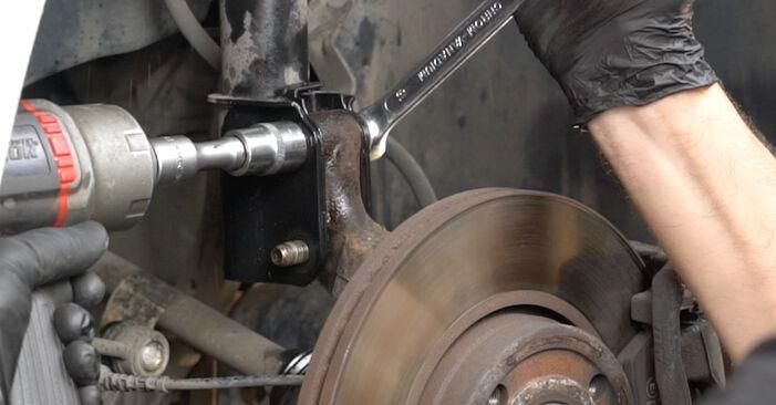 Wie schwer ist es, selbst zu reparieren: Federn Renault Clio 3 1.2 16V 2011 Tausch - Downloaden Sie sich illustrierte Anleitungen