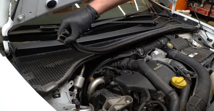 Federn Renault Clio 3 1.4 16V 2007 wechseln: Kostenlose Reparaturhandbücher
