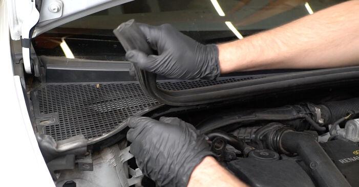 Hoe moeilijk is het om zelf te doen: Ruitenwissermotor vervangen Renault Clio 3 1.2 16V 2011 – download geïllustreerde gids