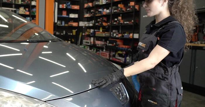 Austauschen Anleitung Kraftstofffilter am Peugeot 307 SW 2010 1.6 HDI 110 selbst